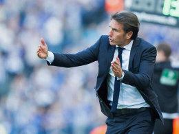 Hätte sich eine kompakte Vorstellung über 90 Minuten gewünscht: HSV-Coach Bruno Labbadia.