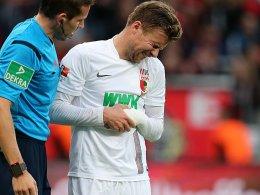 Daniel Baier musste in Leverkusen vorzeitig vom Feld.