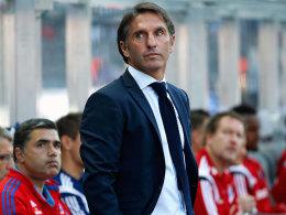 Sein Vertrag soll über 2016 verlängert werden: HSV-Trainer Bruno Labbadia.