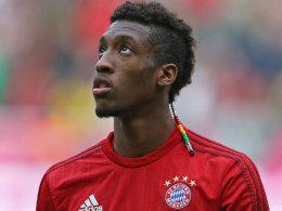 Blick ins Ungewisse: Noch ist nicht klar, wie schwer die Verletzung von Bayerns Kingsley Coman ist.