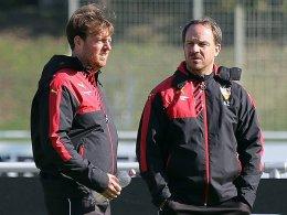 Philipp Laux (links) und Alexander Zorniger