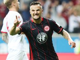 Gute Chancen auf eine Rückkehr gegen Mönchengladbach: Frankfurts Angreifer Haris Seferovic.