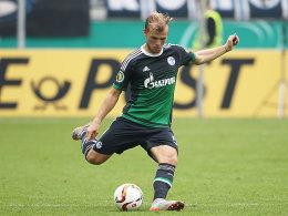 Geis schie�t den n�chsten Schalke-Strafsto�