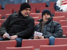 Befreundet: FC-Sportdirektor Jörg Schmadtke und 96-Trainer Michael Frontzeck