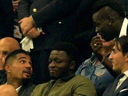 Kevin-Prince Boateng (l.), Mario Balotelli (o.r.)