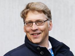 Freut sich über die ausgedehnte Partnerschaft mit dem Hauptsponsor: Peter Rettig, Vorsitzender der Geschäftsführung bei der TSG Hoffenheim.