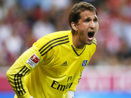 Darf er gegen seinen Ex-Klub Leverkusen ran? HSV-Torhüter René Adler.