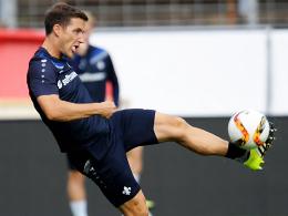 Könnte zu seinem Bundesligadebüt im Darmstädter Dress kommen: Linksverteidiger Michael Stegmayer.