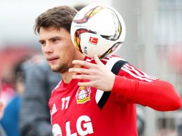 Meist nur im zweiten Glied: Leverkusens Sebastian Boenisch.
