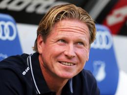"""""""Es bringt nichts, Trübsal zu blasen"""": Hoffenheims Trainer Markus Gisdol."""