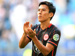 Soll mal die Seele baumeln lassen: Frankfurts japanischer Nationalspieler Makato Hasebe.