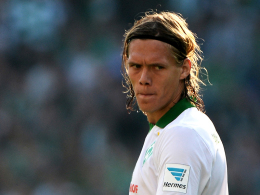 Über seinen Einsatz wird kurzfristig entschieden: Werder Bremens Abwehrhüne Jannik Vestergaard.