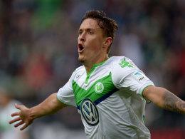 Max Kruse jubelt gegen Hoffenheim