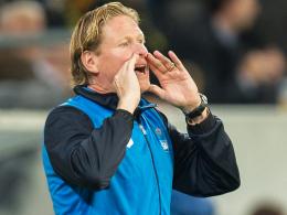 Steht gehörig unter Zugzwang: Hoffenheims Trainer Markus Gisdol.