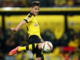 Will Qäbälä keinesfalls auf die leichte Schulter nehmen: Dortmunds Julian Weigl.