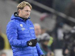Er setzt aktuell nicht so sehr auf Thomas Pledl: FCI-Coach Ralph Hasenhüttl.