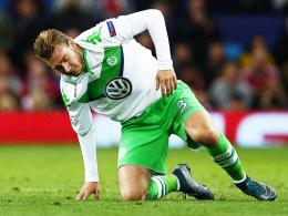 Hat derzeit einen schweren Stand: Wolfsburgs Angreifer Nicklas Bendtner.