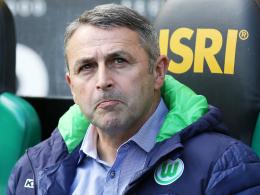 """""""Für uns muss nicht immer alles optimal sein"""": Wolfsburgs Manager Klaus Allofs."""