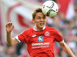 Hatte sich seinen 29. Geburtstag anders vorgestellt: Niko Bungert unterlag mit Mainz dem SV Werder Bremen.
