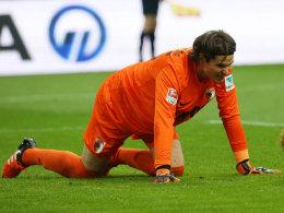 Marwin Hitz in Dortmund