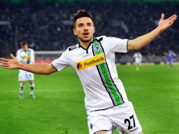 Premierentreffer: Gladbachs Julian Korb erzielte gegen Schalke sein erstes Bundesligator.