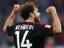 Matchwinner gegen Stuttgart: Leverkusens Admir Mehmedi.
