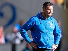 Er will ins DFB-Pokal-Finale: Hertha-Coach Pal Dardai.