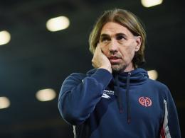 Wiedergutmachung gegen 1860 München: Mainz-Trainer Martin Schmidt.