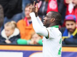 Im Falle eines Treffers gegen Ex-Klub Köln wird er nicht jubeln: Werder-Angreifer Anthony Ujah.