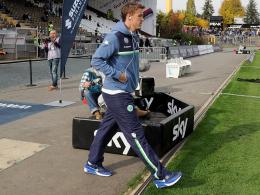 Muss wohl die nächsten drei Spiele zuschauen: Max Kruse vom VfL Wolfsburg.