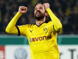 Überragende Figur auf dem Platz: Borussia Dortmunds Gonzalo Castro.