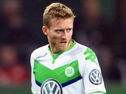 Keine Einsatzgarantie gegen seinen Ex-Klub Leverkusen: Wolfsburgs André Schürrle.