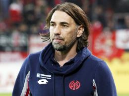 Muss auf bis zu acht Spieler verzichten: Der Mainzer Trainer Martin Schmidt.