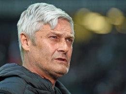 Frankfurts Trainer Armin Veh.