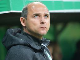Möchte dem FC Bayern aus dem Weg gehen: Werder-Coach Viktor Skripnik.