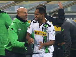 Grippe auskuriert? Gladbachs Trainer Andre Schubert hofft auf einen Einsatz von Angreifer Raffael.