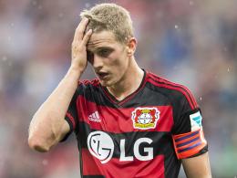 Pechvogel: Wieder plagen Leverkusens Kapitän Lars Bender Knöchelprobleme.