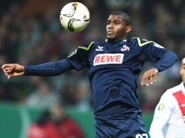 Duell mit den Ex-Kollegen: Kölns Angreifer Anthony Modeste kam im Sommer aus Hoffenheim.