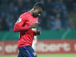 Der Pokal-Garant zeigt sich treffsicher: Hertha-Angreifer Salomon Kalou.