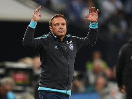 Hat Zweifel an der Qualität seines Kaders: Schalke-Coach André Breitenreiter.