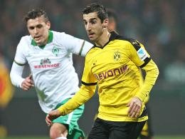 """""""Absoluter Wettkämpfer"""": Dortmunds Henrikh Mkhitaryan ist in blendender Verfassung."""