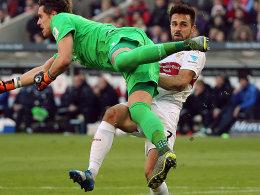 Bitter f�r den VfB: Auch Harnik f�llt l�nger aus