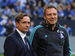Horst Heldt und André Breitenreiter