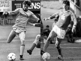 Alte Teamkameraden in Darmstadt: Uwe Kuhl (li.) und Bruno Labbadia (re.).