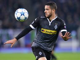 """""""Die Enttäuschung überwiegt"""": Mönchengladbachs Alvaro Dominguez nach dem 1:1 gegen Juventus Turin."""