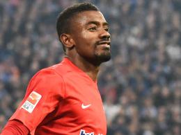 Kann am Freitag in Hannover auflaufen: Hertha-Angreifer Salomon Kalou.