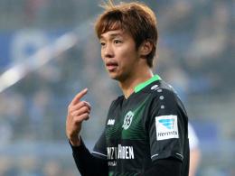 Wurde am rechten Fuß behandelt: Hannovers Antreiber Hiroshi Kiyotake.