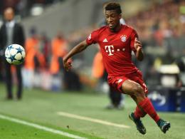 Erste Nominierung für die französische A-Nationalmannschaft: Bayerns Flügelflitzer Kingsley Coman.