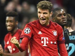 Zweitbester deutscher Europacup-Torschütze: Bayern-Stürmer Thomas Müller.
