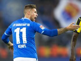 Gute Chancen auf die Startelf gegen Hamburg: Darmstadts Tobias Kempe.